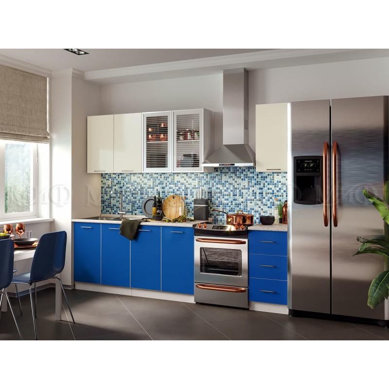 Кухня Фортуна (синяя)