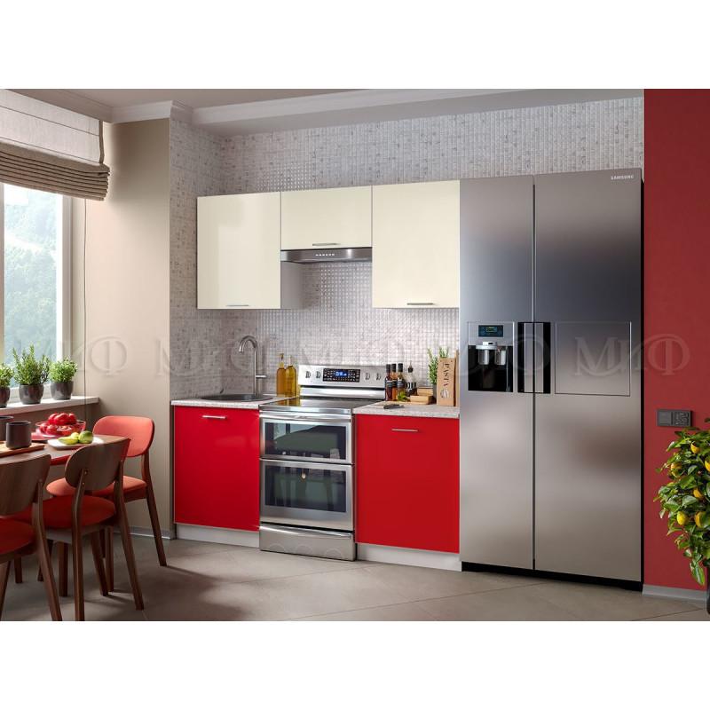 Кухня Фортуна (красная)