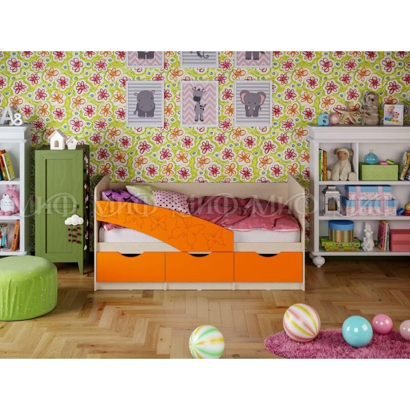 Детская кровать Бабочки