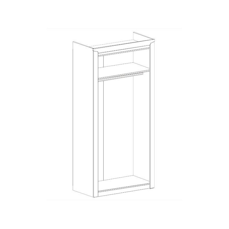 "Шкаф 2-х дверный ""Соренто"""