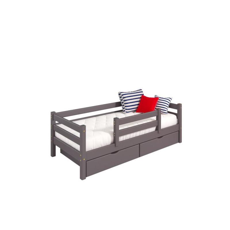 """Кровать """"Соня"""" вариант №4 с защитой по центру"""