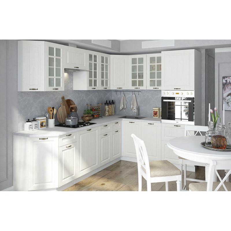 Кухня Мария МДФ Белый (Модульная серия)
