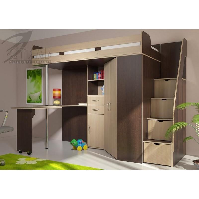 """Мебель для детской кровать-чердак  """"МИЙА"""""""