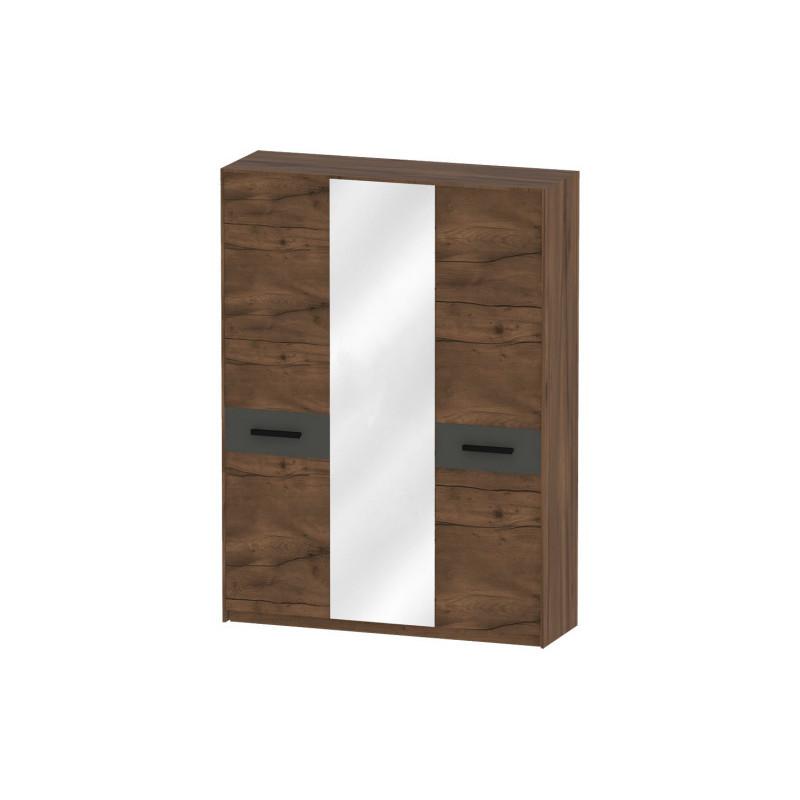 Глазго Шкаф 3-х дверный