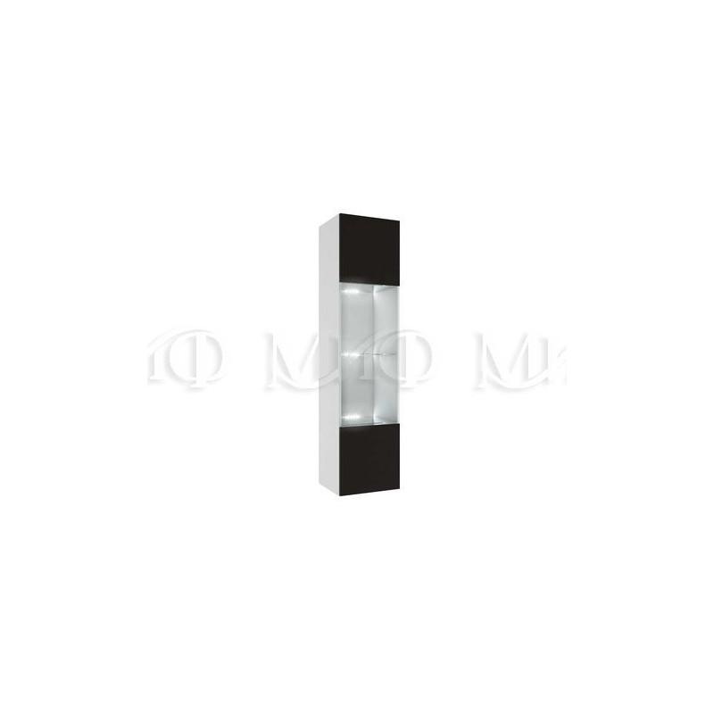 Гостиная Флорис Черный глянец (Модульная система)