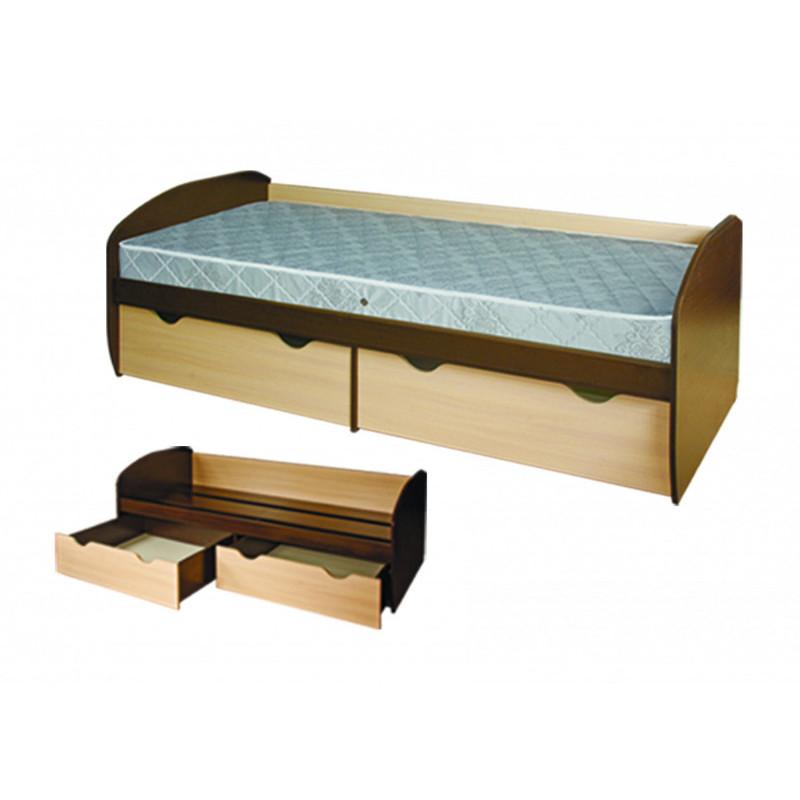 Кровать КД-1.8 с ящиками